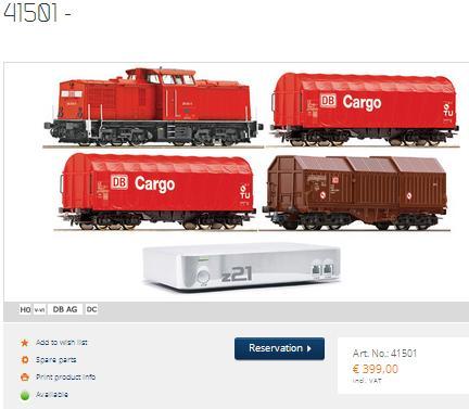 Roco Train Set 41501