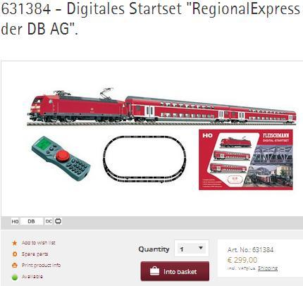 Digital Startser Fleischmann 631384