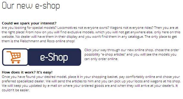 New e-Shop Service Introduction